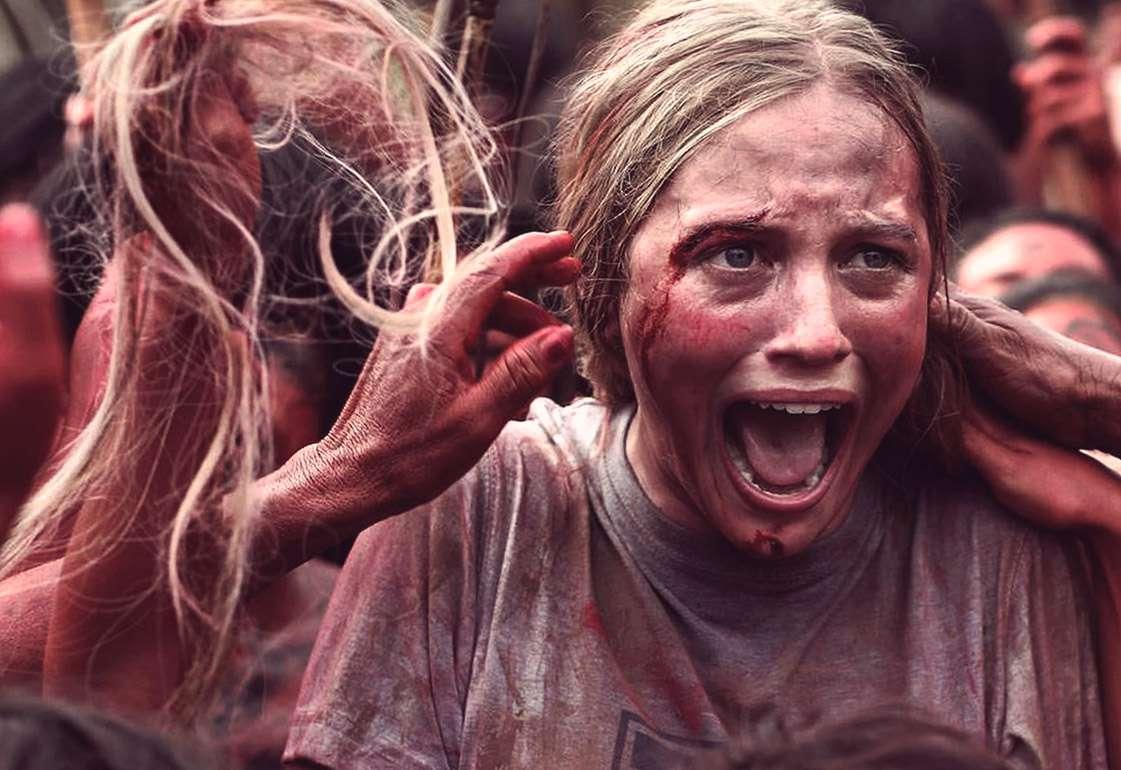 Кадр из кино «Зеленый ад» 2014 года